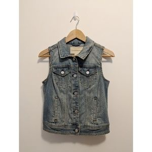 Anthropologie Pilcro Denim Vest
